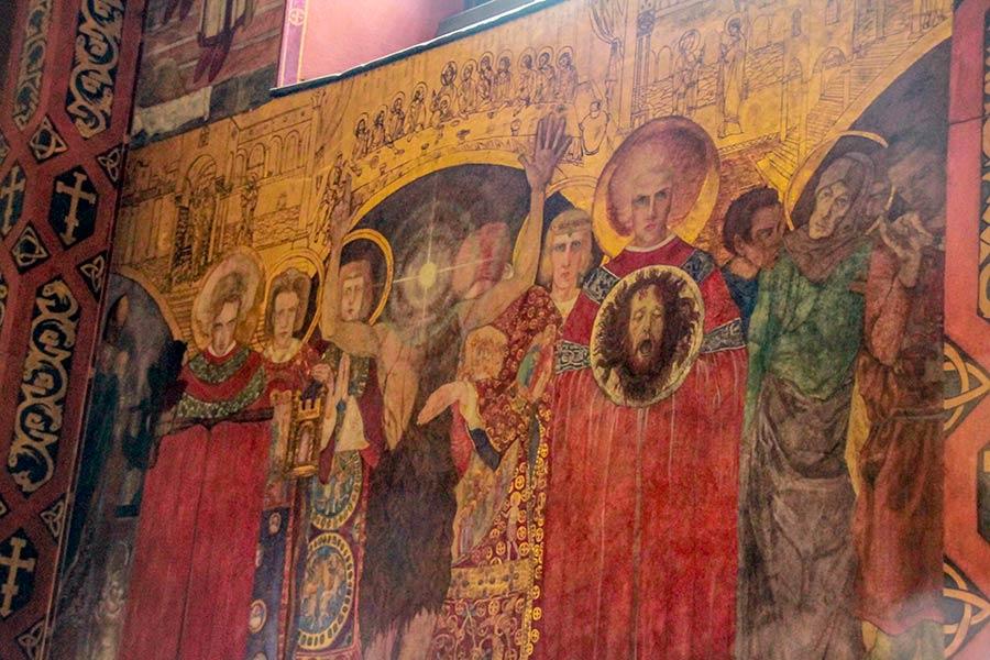 Фреска в Армянском соборе