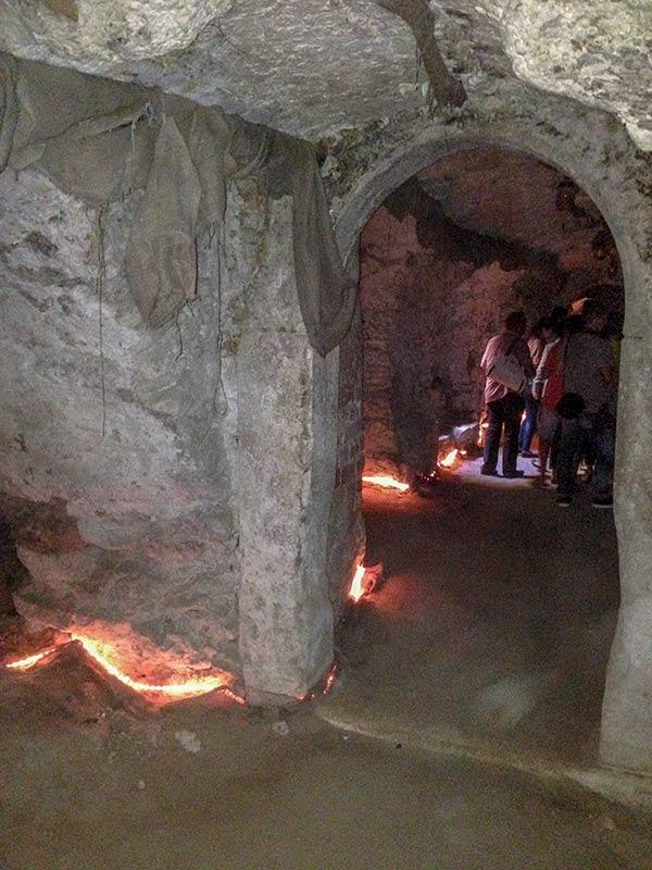 Подземелья под кельями Доминиканского монастыря