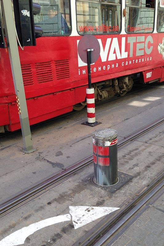Столбик для трамваев