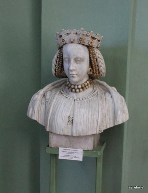 Бюст королевы Польши Барбары Радзивилл