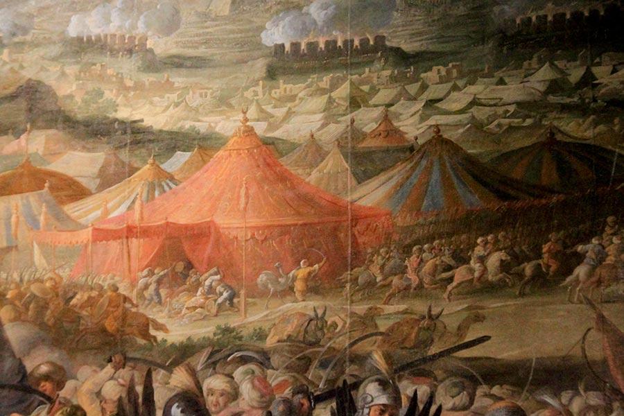 «Битва под Веной» фрагмент