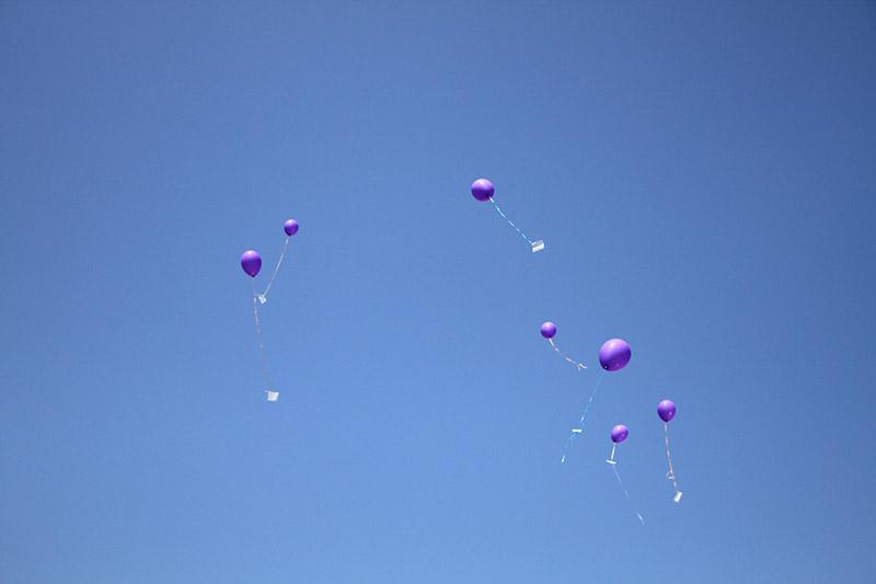 Летят наши шарики
