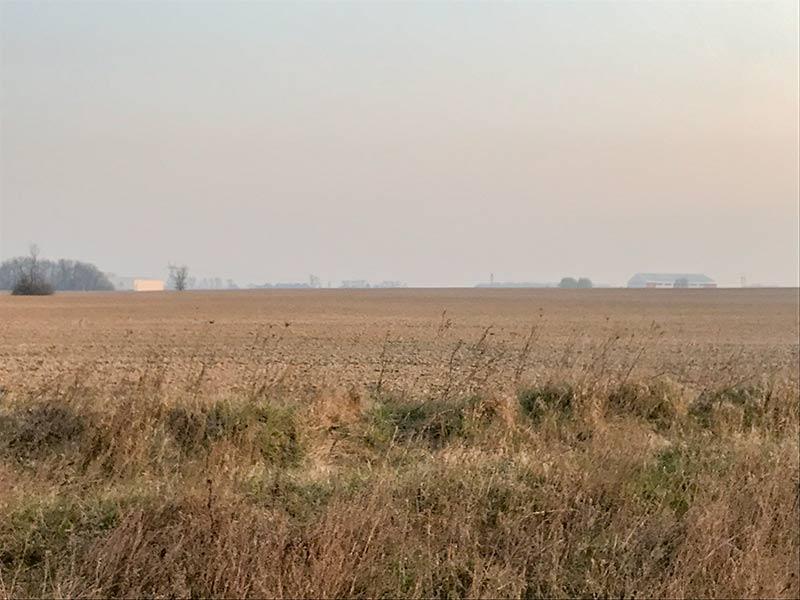 Вспаханое поле