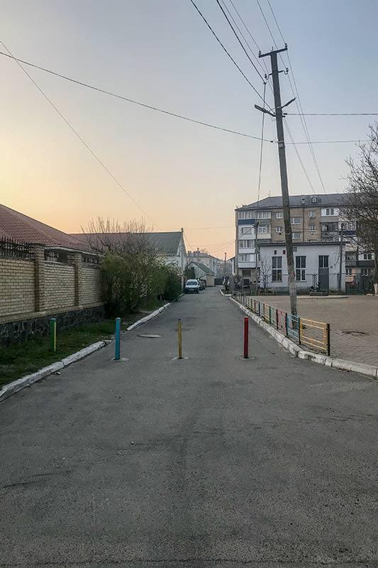Улочка возле садика