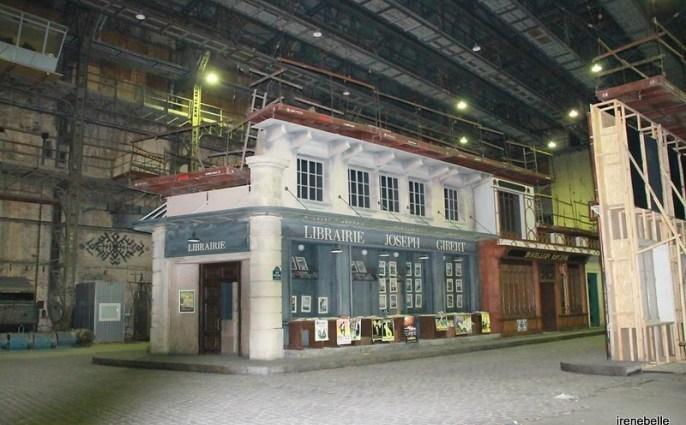 Съемочный павильон на киностудии Довженко