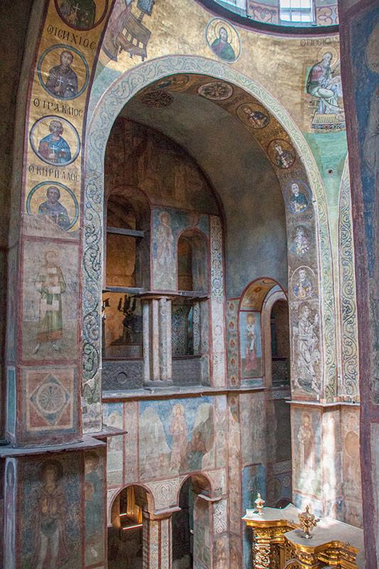 Росписи в Софийском соборе