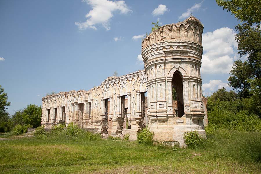 Палац Остен-Сакенів в Мироцькому