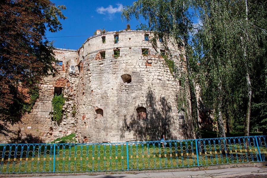 Замок в Бережанах
