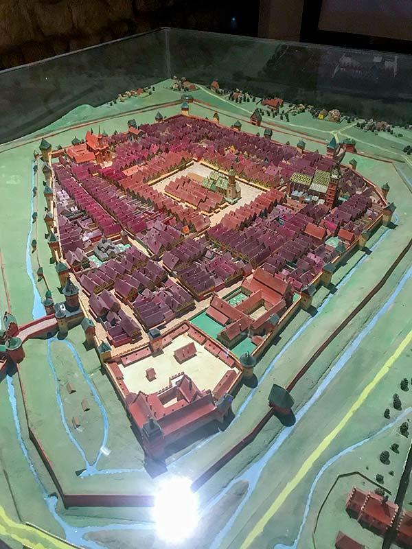 Макет Львова 15 века