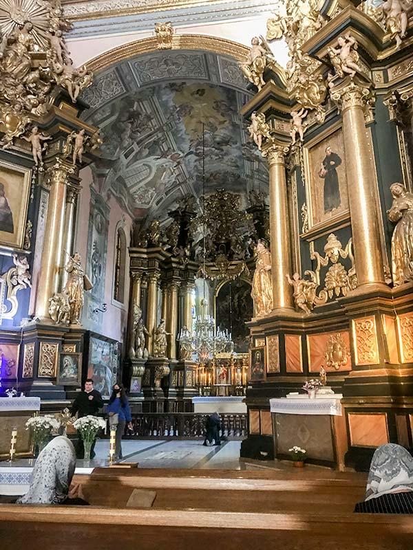 Интерьер церкви Святого Андрея