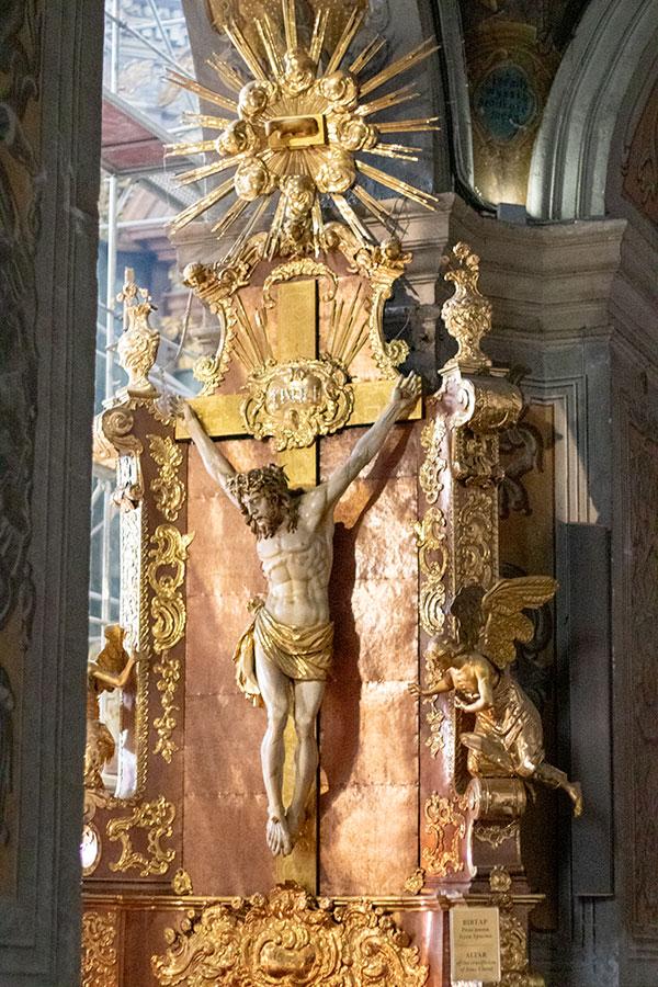 Распятие Христа. XVII в.