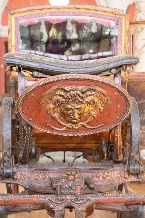 Карета львовского архиепископа 18 век