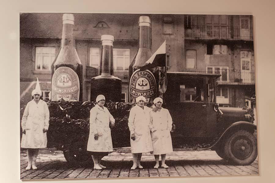 Реклама львовского пива