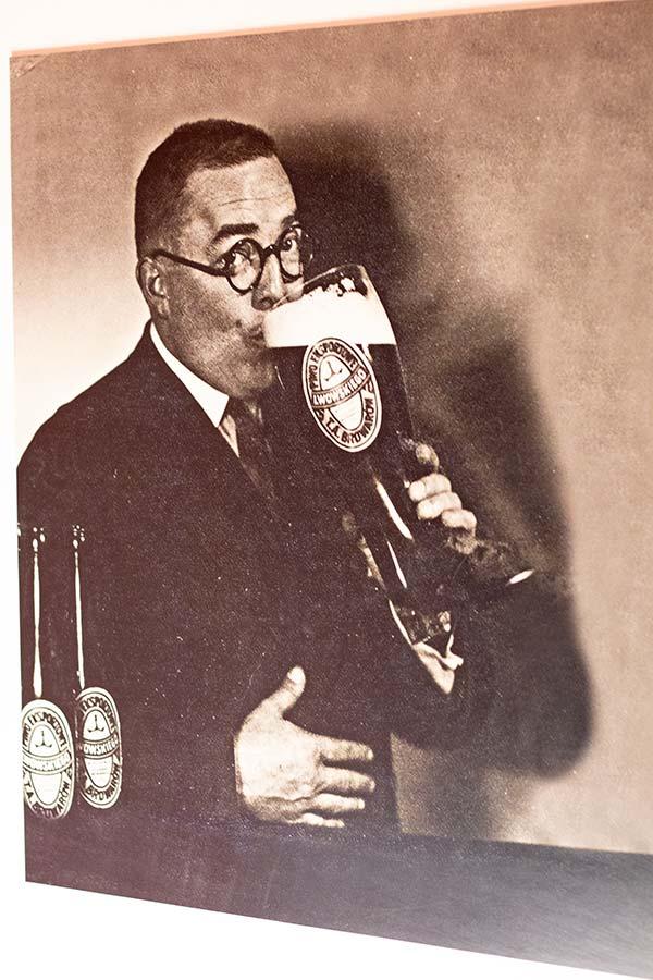 Реклама пива 1939 года