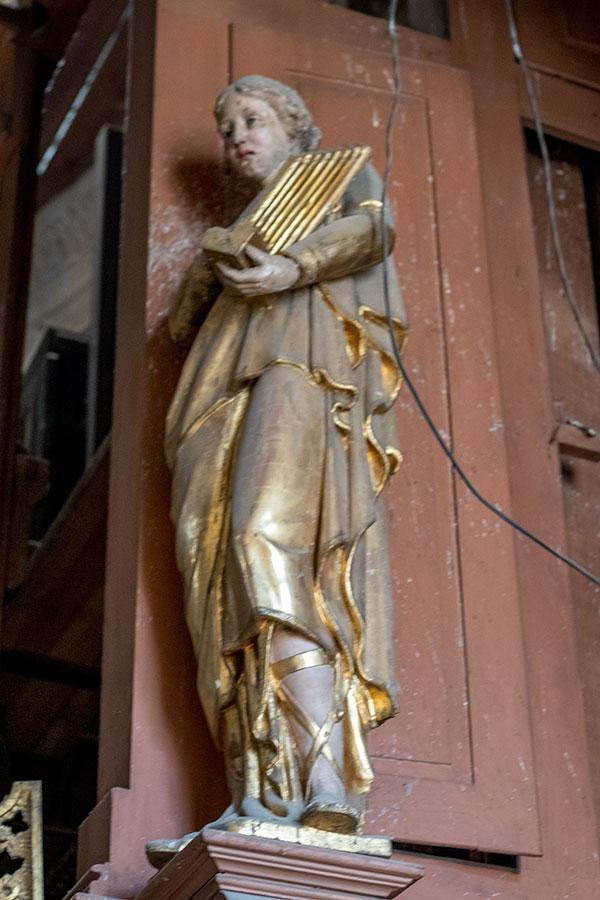 статуя Святой Цецилии