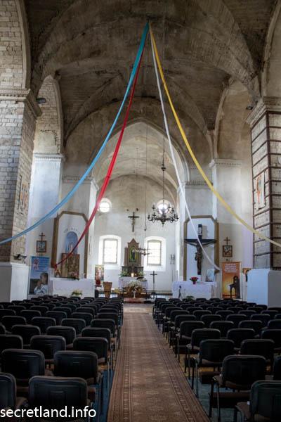 Костел в Гусятине