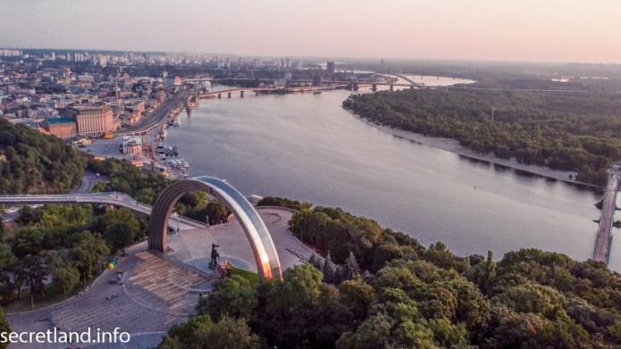 Утренний Киев Подол