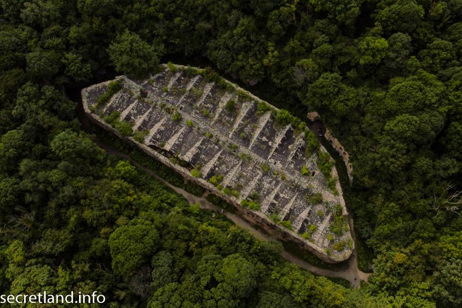Таракановский форт с дрона