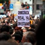 Democracia real ya, sin estafas
