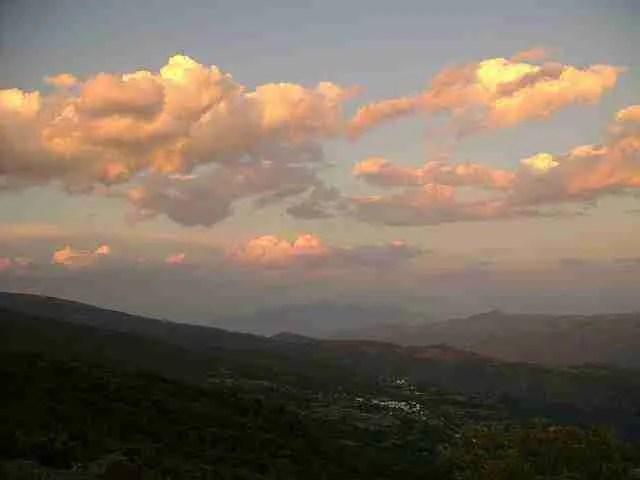 Paisaje de las Alpujarras almeriense, último hogar de Aroldo Gamper. Foto de agarenas