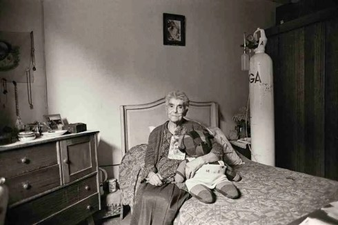 Doris Meniconi. Su hijo Isidro Miguel A. Pizarro desapareció el 19 de noviembre de 1974. Santiago (Chile)
