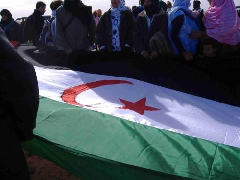 Bandera de la República Árabe Saharaui Democrática (RASD)  Isabela Valle