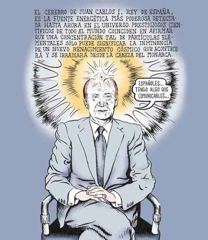 El cerebro de Juan Carlos I