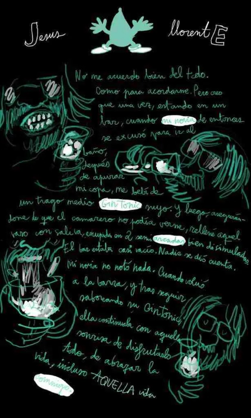 Autoayuda Ilustrada, un cómic para dejar de beber y fumar de Wences Lamas y Jesús Llorente