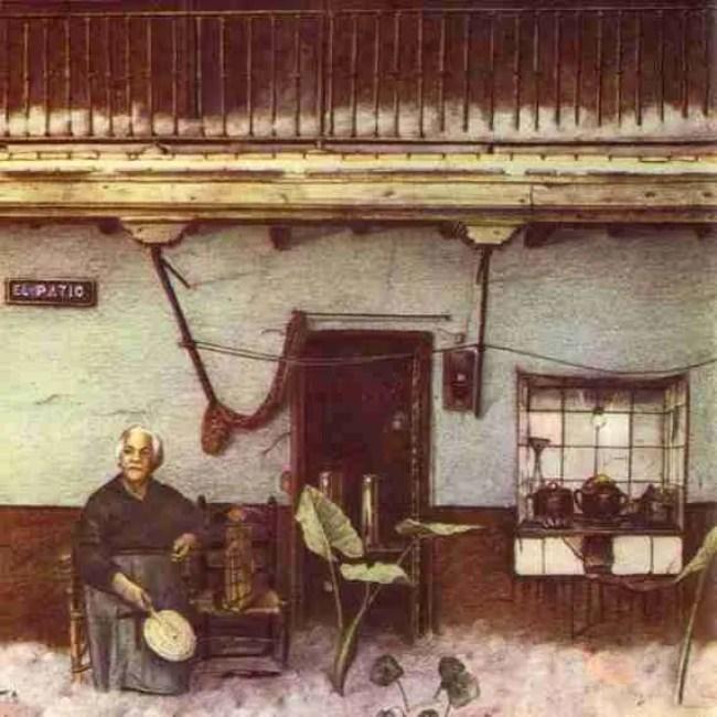 Triana El Patio 1975 interior portada rock andaluz