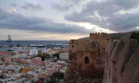 Casco Histórico de Almería, desde la Alcazaba. Foto de horrapics