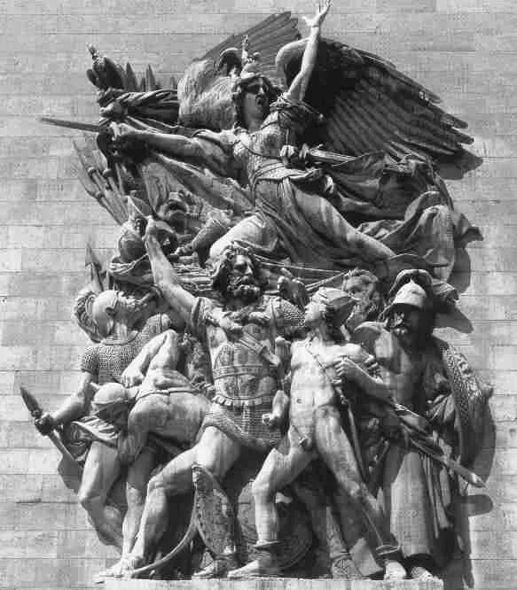 La Marsellesa, escultura de FRançois Rude