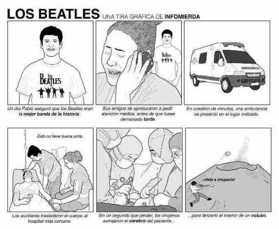 en InfoMierda Los Beatles