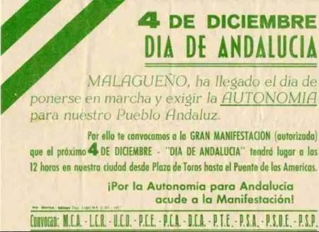 malaga 4d 1977 andalucismo
