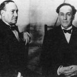 Los hermanos Machado y Antonio Burgos