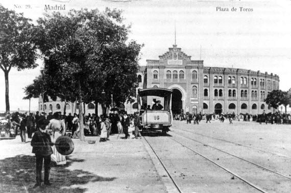 Tranvía Plaza de Toros 1890