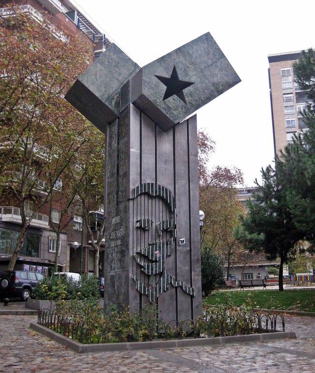 Monumento a José Martí, Madrid