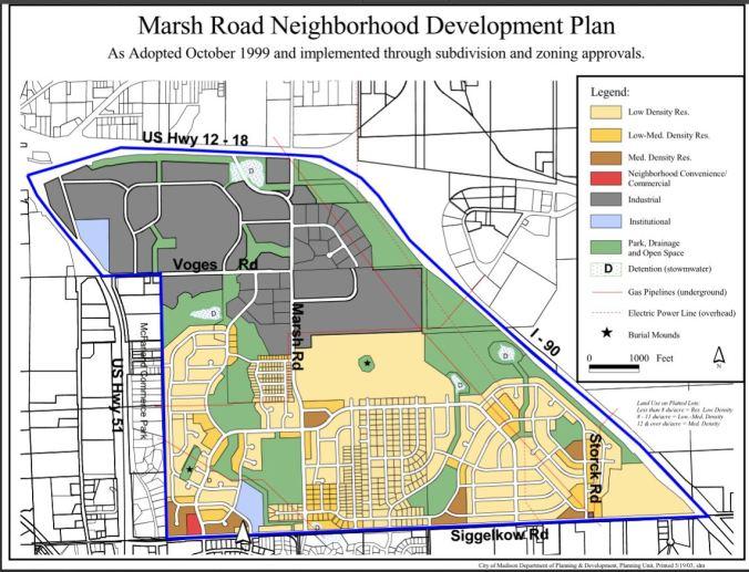 1999 neighborhood plan