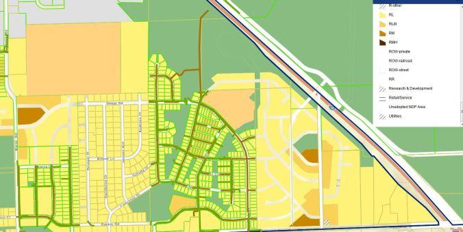 Current neighborhood plan