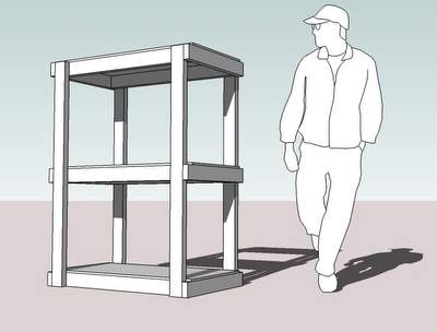Storage Shed Shelves Plans