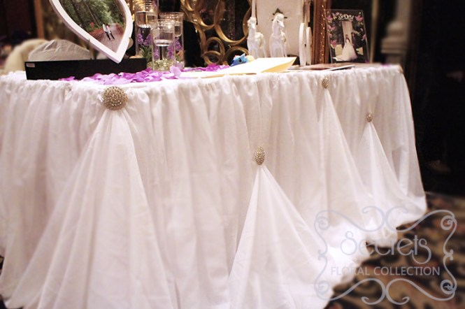 Diy 80cm Height Organza Table Skirt Cloth Reception Desk Gauze Tulle Wedding Party Banquet Decoration Wd752