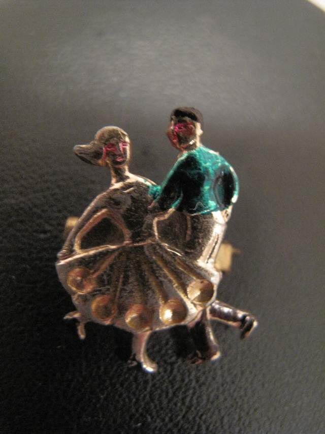 1950 S Rock N Roll Brooch