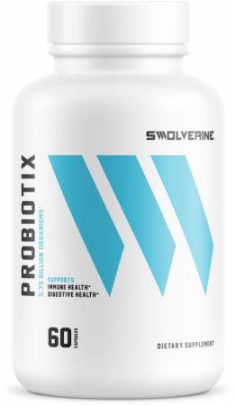 Swolverine Probiotix, 60 Vegetable Capsules