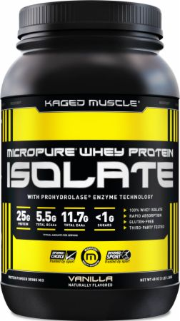 Kaged Muscle MicroPure Whey Protein Isolate