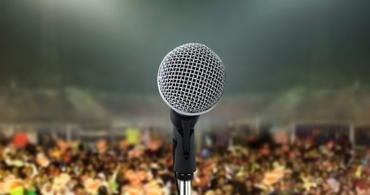 Music concert microphone