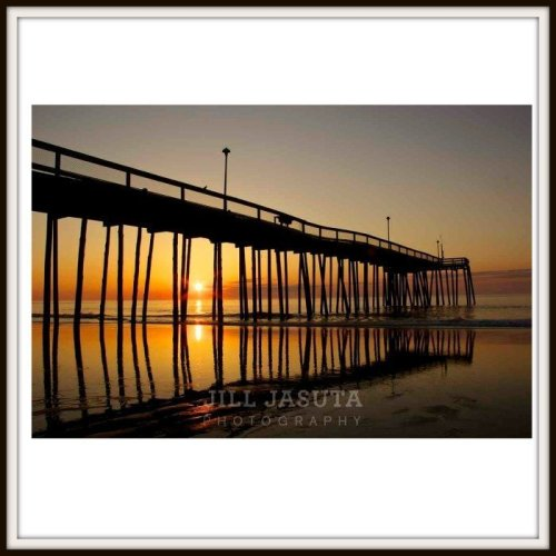Ocean City Fishing Pier Photo Print