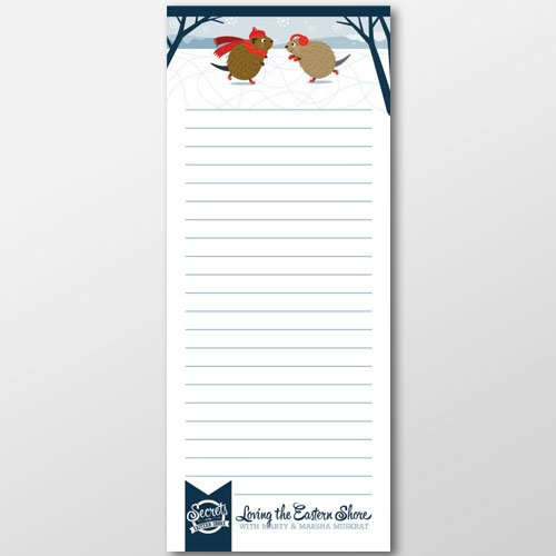 Marty & Marsha Winter Notepad