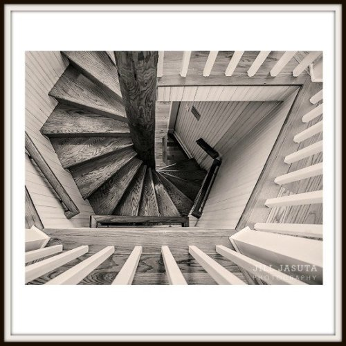 Spiral Stair at the Choptank River Lighthouse