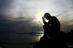 facing left prayer