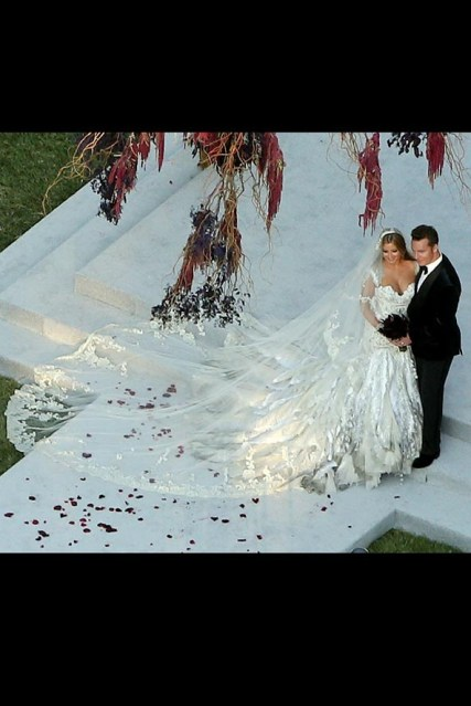 Holly Valance on her Wedding Day