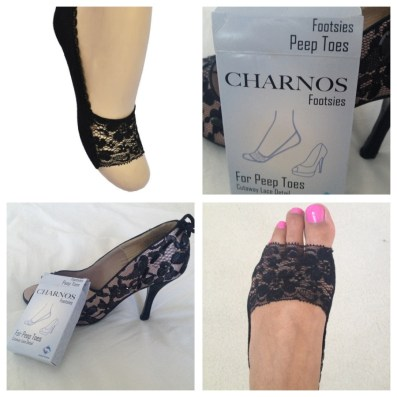 Product Review ♥ My Tights Charnos Peep toe footsies